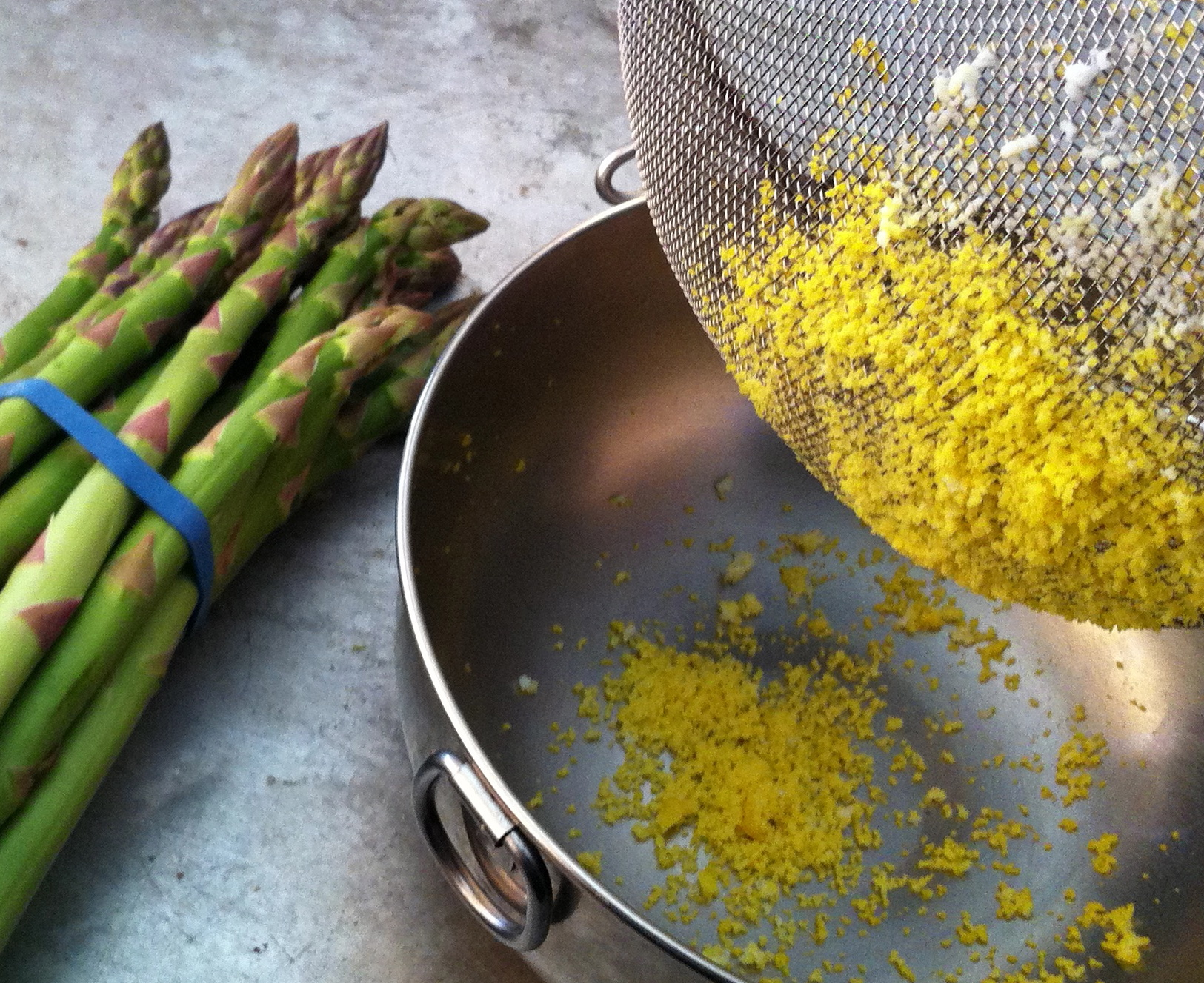 ASPARAGUS MIMOSA | Jane Lear. Writing on Food and Travel.